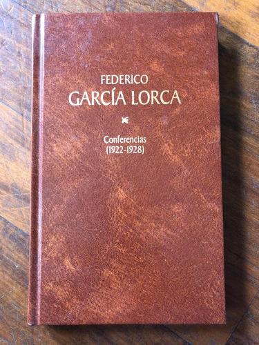 Conferencias (1922-1928). Federico García Lorca