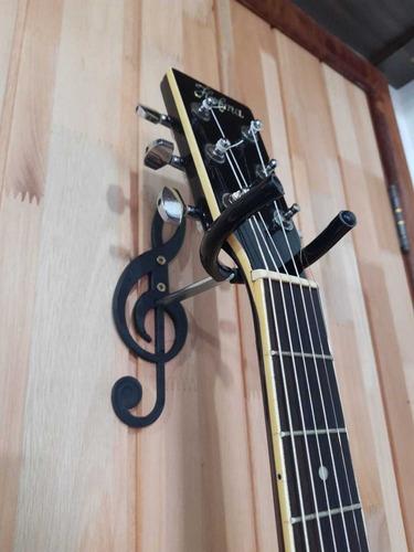 1  Suporte De Parede Para Violão/guitarra/baixo..etc