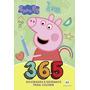 Livro 365 Atividades Peppa Pig Com Desenhos Para Colorir