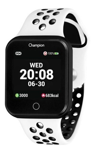 Relógio Smartwatch Champion Bluetooth 4.0 Ch50006k