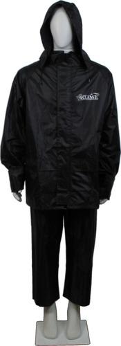 Capa Chuva Conjunto Jaqueta Calça Motoqueiro Nylon Emborrachado Costuras Seladas Impermeável Conforto Alta Qualidade