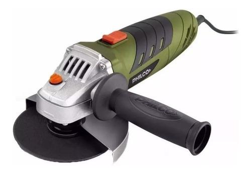 Amoladora Angular Philco Mepam126  De 50hz Verde 220v