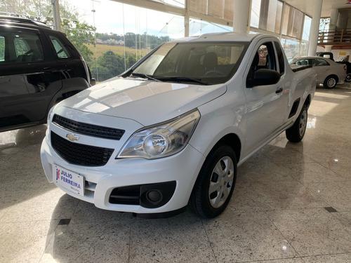 Chevrolet Montana 1.4 Ls Flex Branca 2017