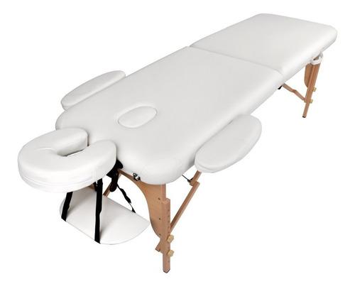Divã Mala Dobrável Com Orifício Mesa Maca Massagem
