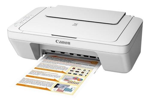 Impressora A Cor Multifuncional Canon Pixma Mg2410 Branca 110v/220v