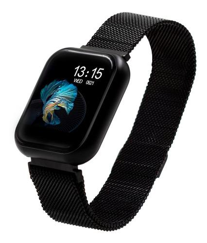 Relógio Smart Watch Batimento Cardíaco Duas Pulseiras T80