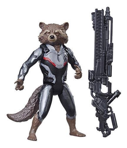 Boneco Marvel Avengers Vingadores Rocket Raccon Hasbro