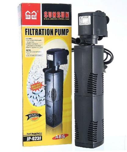 Filtro Interno Com Bomba Sunsun Jp-023f 1000l/h P/ Aquário