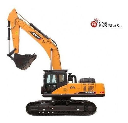 Excavadora Sany Sy365-h, Desde