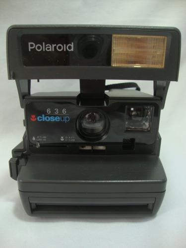 Antiga Camera Polaroid 636 Closeup Anos 80 Maquina Foto C.01