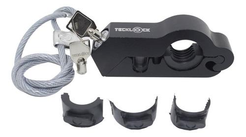 Trava Manete Moto Teck Lock Anti Furto Trava De Capacete .