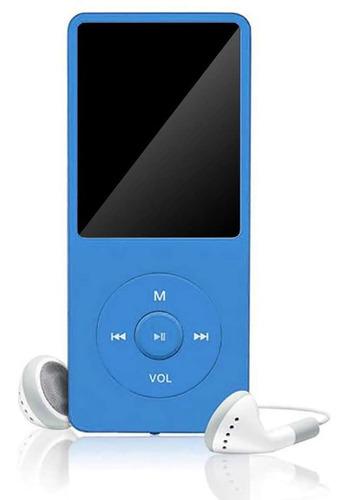 Mp3 Mp4 Player Gravador Radio Fm Suporta 64gb Corrida + Fone