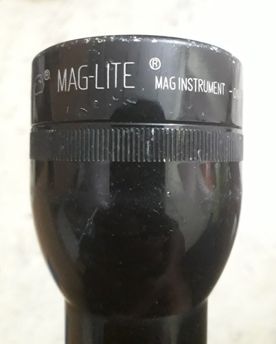 Linterna Mag-lite Grande Original De Bombillo