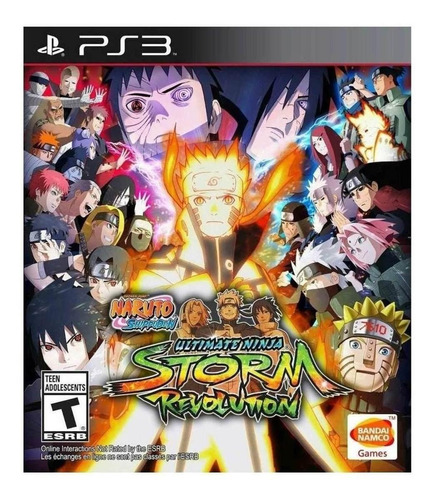 Naruto Shippuden: Ultimate Ninja Storm Revolution Standard Edition Bandai Namco Entertainment Ps3 Digital