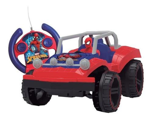 Carrinho Controle Remoto Candide Spider Man Buggy Hero 5847