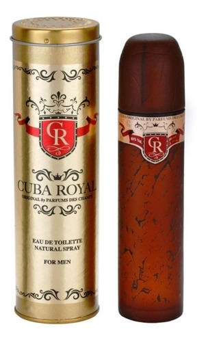 Fragancia Cuba Paris Royal 100ml Origina - L a $509