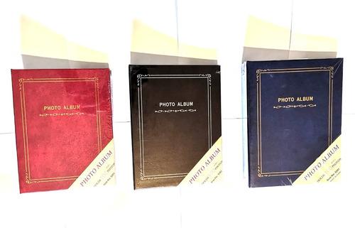 Album Libro Para 200 Fotos 10x15 Cms 3 Unidades Con Envio