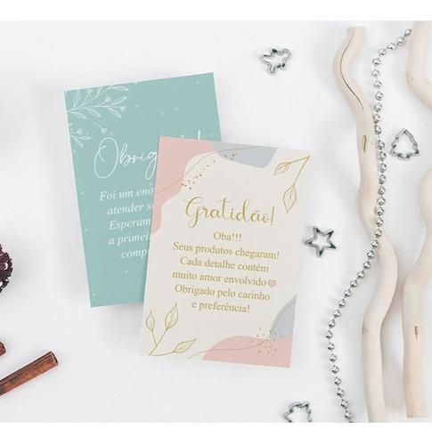 Flyer /carta /folheto /panfleto Agradecimento Compra 1000un