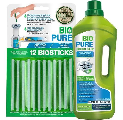 Kit Biosticks + Odour Stop Para Control De Malos Olores
