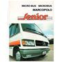 Folder Propaganda Micro Onibus Marcopolo Senior