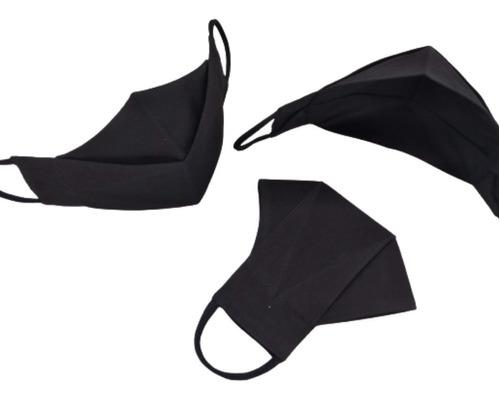 10 Máscaras 3d, 3 Camadas De Tecido/elástico Em Fio De Malha