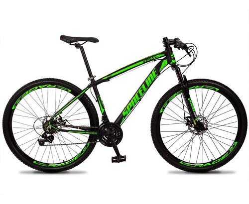 Bicicleta 29 Spaceline Vega 24v Cambio Shimano