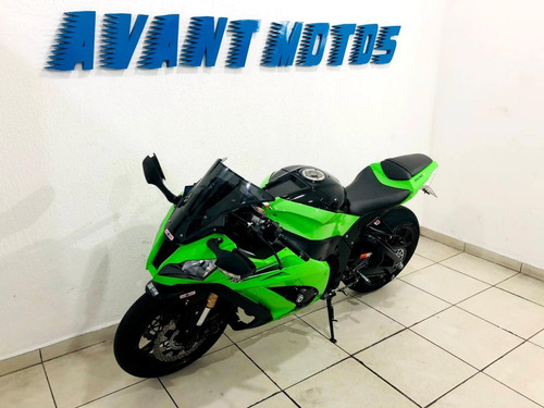 Zx 10 R 2011 Verde Impecável Manual Chave Reserva Pedaleiras