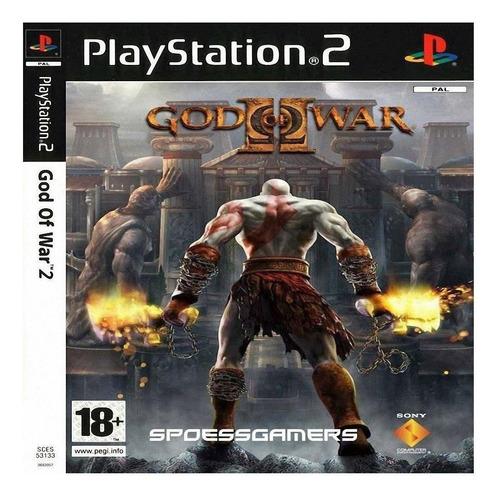 God Of War Ii Sony Ps2  Físico