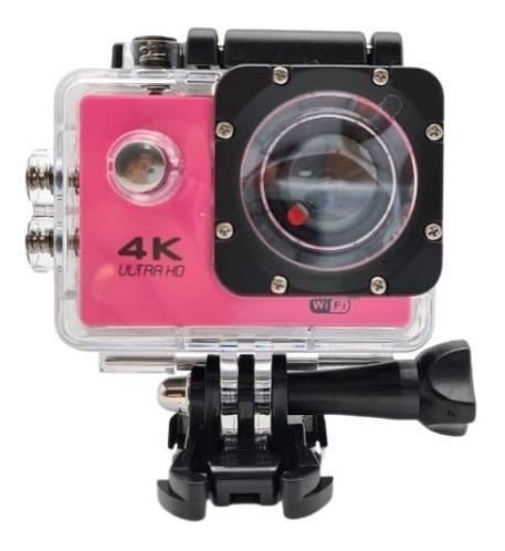 Câmera Filmadora Sports 4k Moto Bike Mergulho - Ação