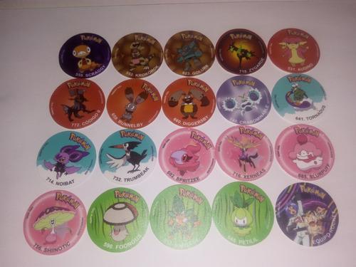 183 Taps/tazos Pokemon 5ta A 7ma Generacion Dkv