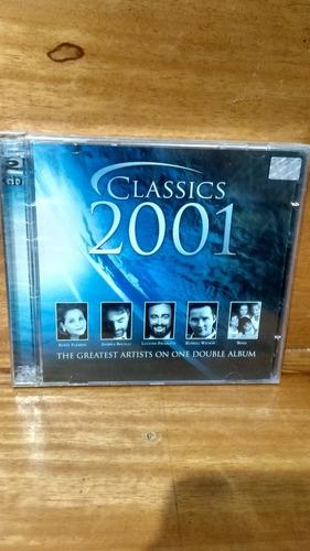 Classics 2001 The Greatest Artsts [cd Duplo Original Lacrado