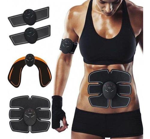 Estimulador Tonificador Muscular Elétrico Completo + Brinde