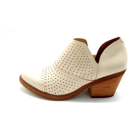 Botas Zapatos Borcego Botineta Cuero Ecologico Savage Gz750