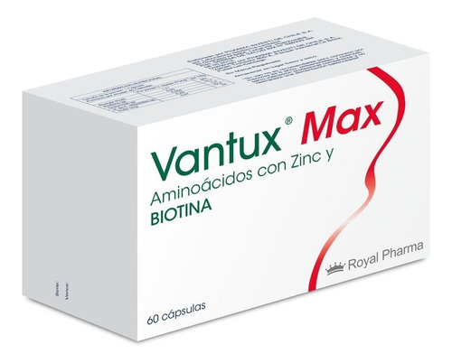 Vantux Max 60 Cápsulas