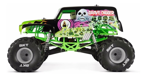 Axial Ax90055 Smt10 Grave Digger Monster Jam Truck 1/10th S