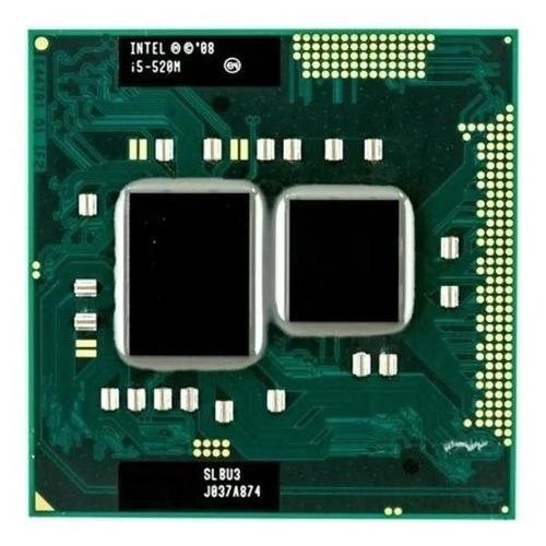Processador Gamer Intel Core I5-520m Cp80617004119ae De 2 Núcleos E 2.4ghz De Frequência Com Gráfica Integrada