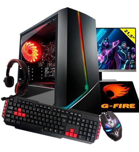 Pc Gamer G-fire Completo Htg-708 Ryzen 3 2200g 8gb Ssd 240gb