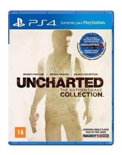 Uncharted: The Nathan Drake Collection Sony Ps4  Físico