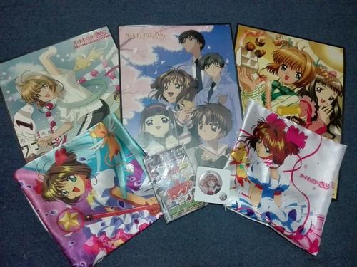 Combo Anime Cardcaptor Sakura Poster Funda Revista Pines