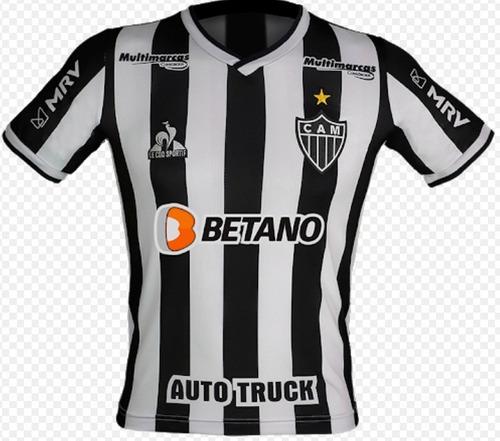Camisa Atletico Mg Bmg 2020 /2021 Le Coq  Masculina