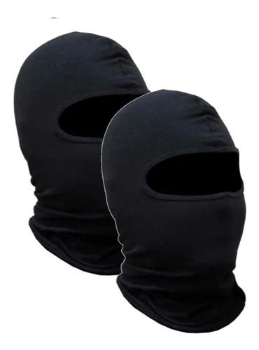 Kit 2 Touca Ninja Toca Para Motoqueiro Touca Para Frio