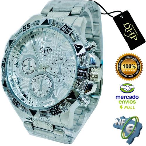 Relógio Masculino Barato Robusto Original Aprova D'água Top!
