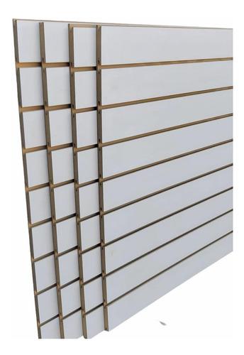 Panel Ranurado, Nuevo,para Pared 2.60 X 0.90 18mm
