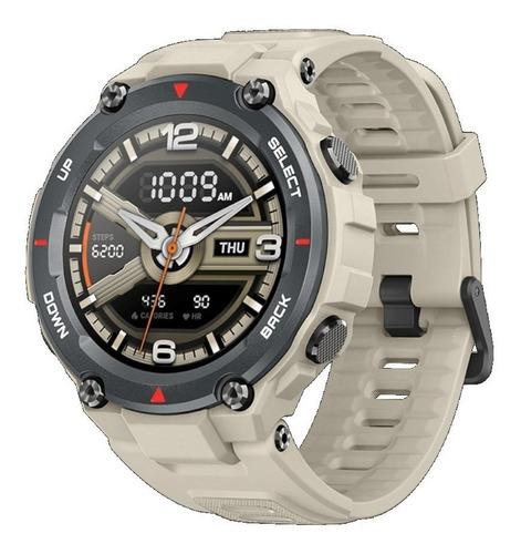 Smartwatch Amazfit Sport T-rex 1.3  Caja 47.7mm De  Polímero  Khaki Malla  Khaki De  Silicona A1919