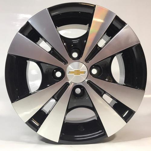 Roda Chevrolet Aro 13 Trevo Corsa Celta + Bicos (jogo)