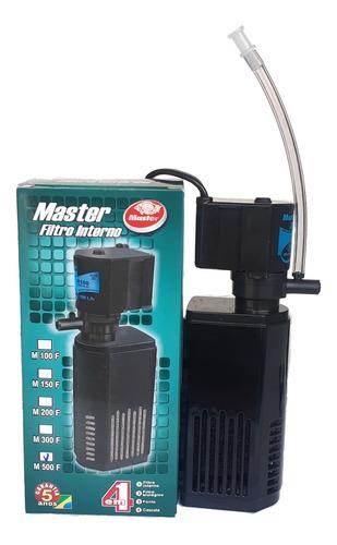 Filtro Interno Com Bomba 500l/h Master Para Aquario Oxigênio
