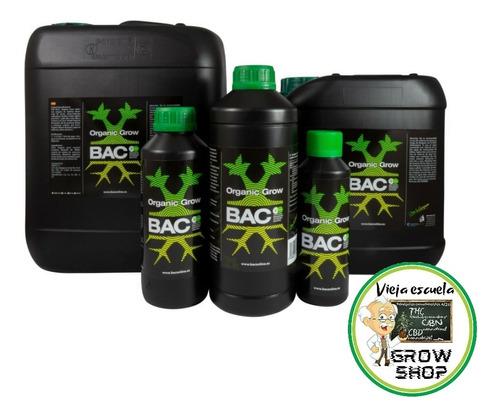 Bac Organic Grow Fertilizante  De Crecimiento Orgánico 250ml