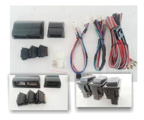 Kit  Para Alzacristales : Cables, Consolas Y Teclas