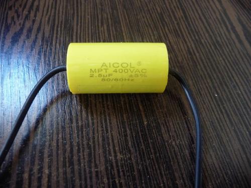 Capacitor Para Ventilador De Techo 2 5 Micro Faradios Mercado Libre