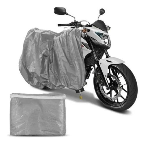 Capa Pra Cobrir Moto Impermeável Cg125/150 Titan Proteção Uv